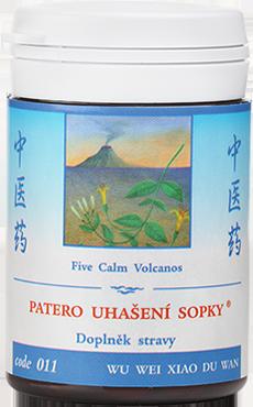 Five Calm Volcanos (code 011)