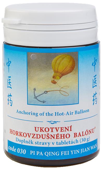 Anchoring of the Hot-Air Balloon (code 030)