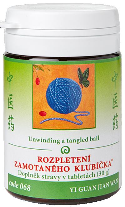 Unwinding a tangled Ball (code 068)