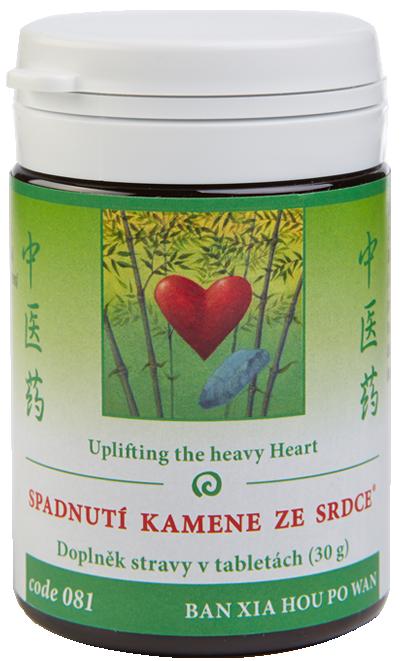 Uplifting the heavy Heart (code 081)