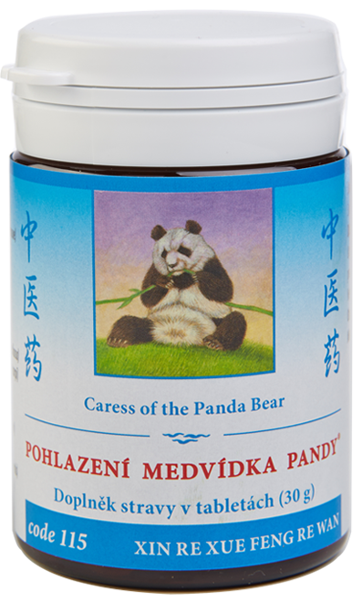 Caress of the Panda Bear (code 115)