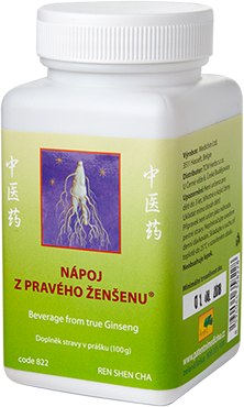 Beverage from True Ginseng (code 822)